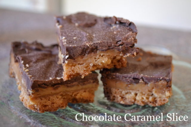 Chocolate Caramel Slice Recipe | Karen Andrews