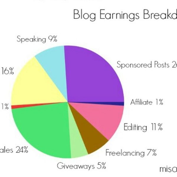 Blog Earnings Breakdown