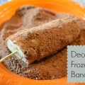 Decadent Frozen Bananas