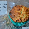banana chia chocolate chip muffin
