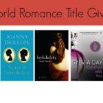 Bookworld Romance Titles