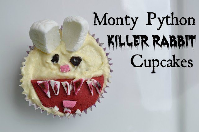 Monty Python Killer Rabbit Cupcakes Tutorial