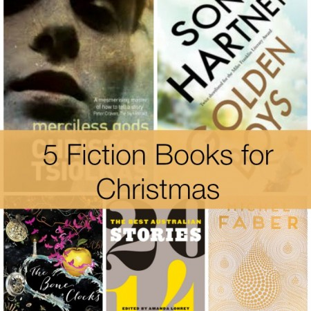 5 fiction books for Christmas