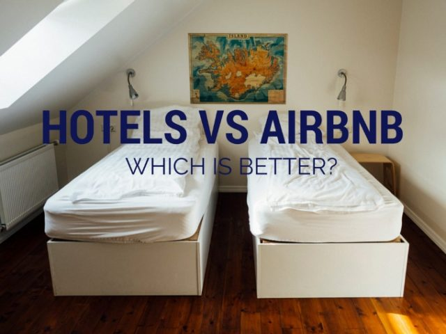 Hotels vs AirBnb