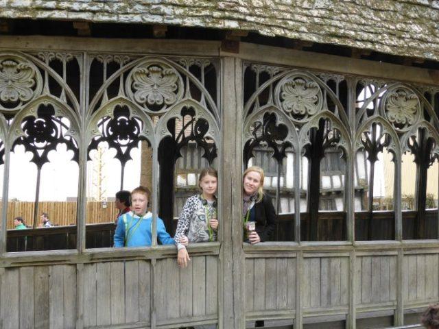 harry potter wooden bridge