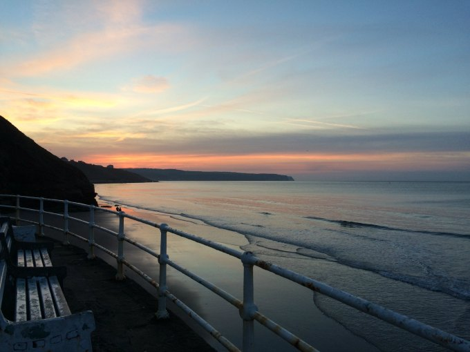 sunset whitby