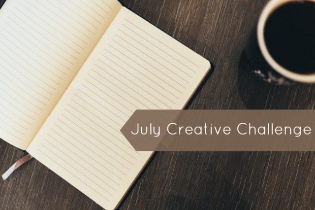 july creative challenge