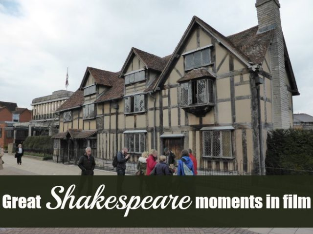 great shakespeare moments in film
