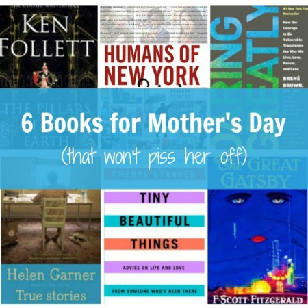 6 books for mother's day