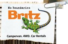 britz campervan logo
