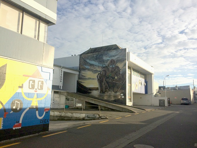 Taupo street art