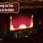 Living List Tick – Go to the Ballet