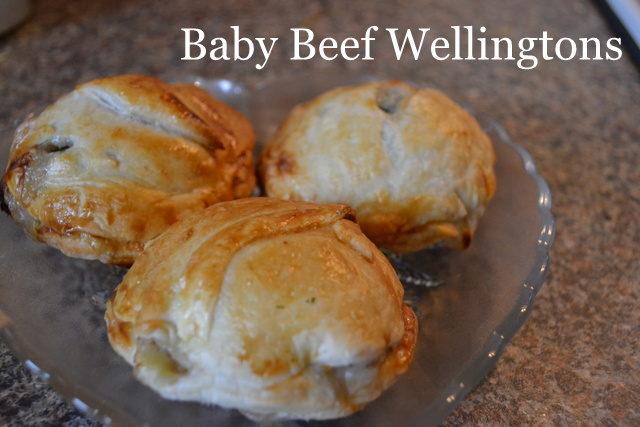 baby beef wellington