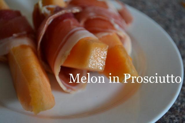 melon in prosciutto