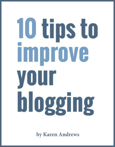 10 tips to improve your blogging ebook cover