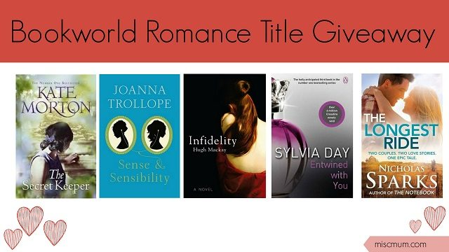Bookworld Romance Titles